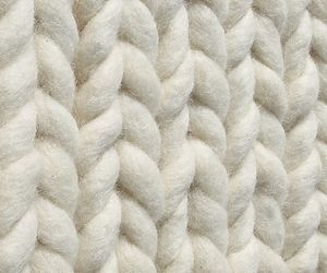 knit, texture, and white image
