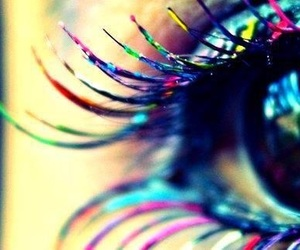 eye, eyes, and colors image