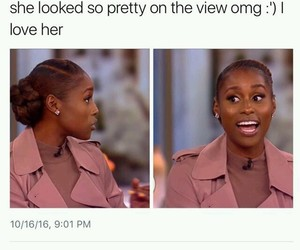 insecure, the view, and woc image