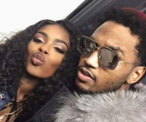 trey songz and dreezy image