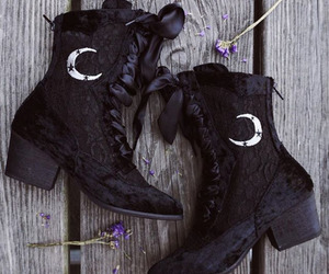 witch, boots, and clothes image
