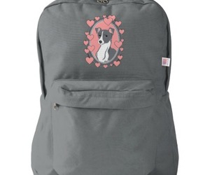 backpack, grey, and italian greyhound image
