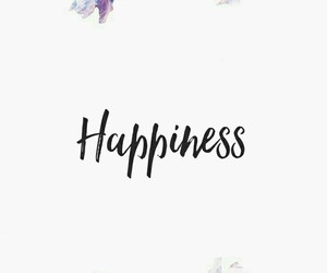 background, happiness, and quote image