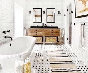 bathroom, grand, and house image
