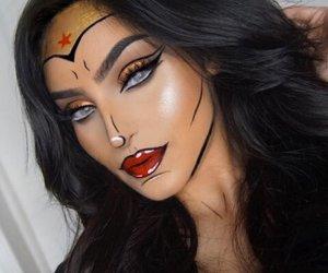 makeup, girl, and Halloween image