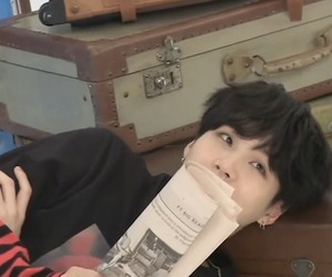 boy, jin, and korean image