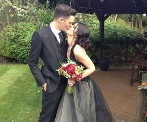 wedding, Shenae Grimes, and couple image