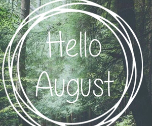 August and month image