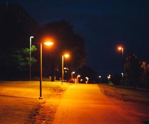 glow, night, and orange image