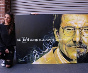 art, breaking bad, and heisenberg image