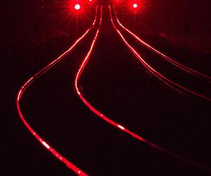 dark, dark red, and glow image