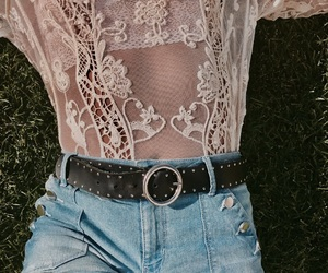 belt, summer, and ootd image