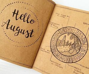 August, beautiful, and creative image