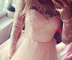 sweet 16 dress, cute prom dresses, and pink homecoming dress image