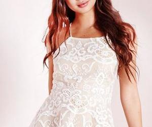party dress, short prom dress, and white homecoming dresses image