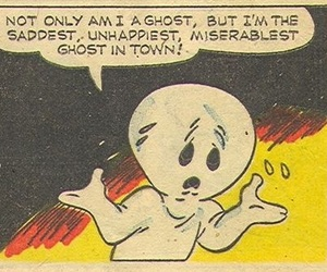 comic and ghost image