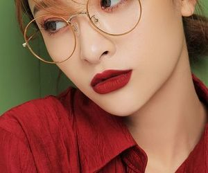make up, girl, and korean image