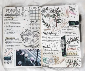 journal, art, and study image