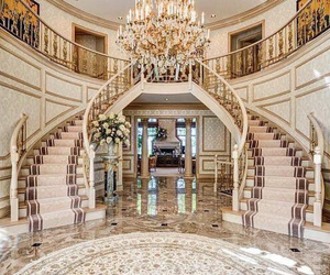 goals, mansion, and rich image
