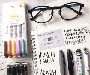 calligraphy, study, and doodle image