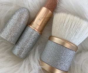 beautiful, lipstick, and make up image