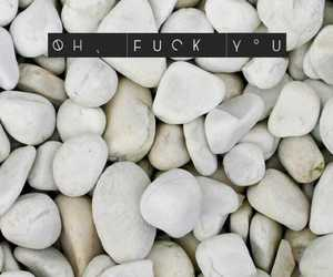 fuck, wallpaper, and words image