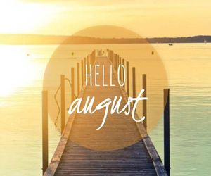 year, August, and beach image
