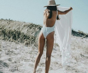 beach, bikini, and fashion image
