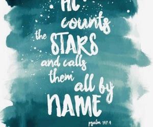 god, stars, and faith image