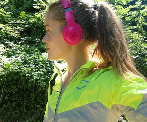 fit, music, and run image