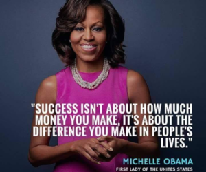 difference, inspire, and michelle obama image