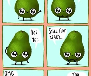 avocado, humor, and funny image