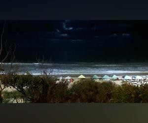 beach, Darkness, and night image