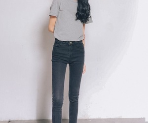 asian, tall girl, and fashion image