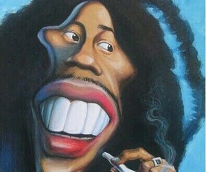 bob marley, jamaica, and caricatures image