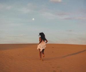 girl, desert, and photography image