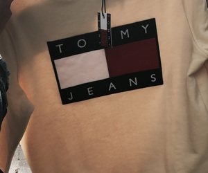 tommy, yellow, and sweater image