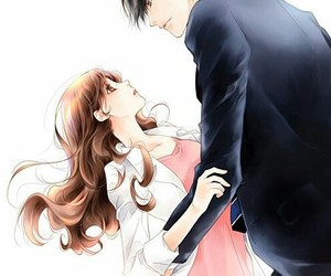 anime and couple image