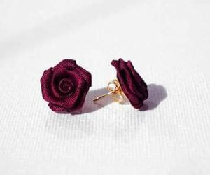 fashion, accessories, and flowers image