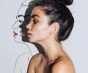 girl, art, and beauty image