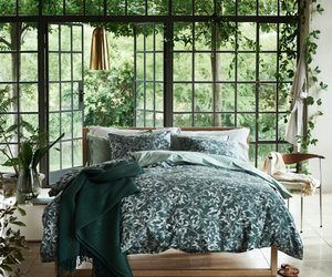 bedroom and green image