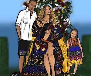 jay, Rumi, and queen bey image