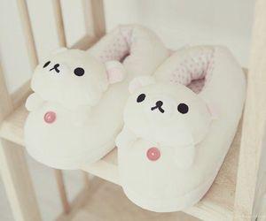 cute, kawaii, and slippers image