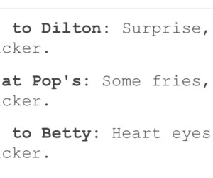 riverdale, betty cooper, and pop's image