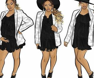 beyonce knowles, pregnant, and beyonce art image