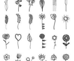 flowers, tattoos ideas, and plants image