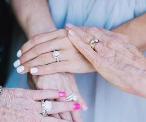 bride, family, and married image