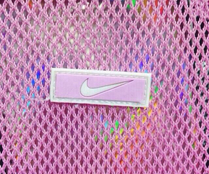 nike, pink, and tumblr image