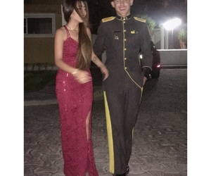 army, baile, and couple image