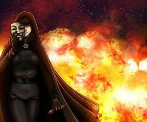 anonymous, art, and peace image